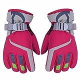 AONIJIE Children's Ski Gloves Waterproof Windproof Warm Lining Outdoor Sports Snow Gloves For 5-10 Years Old Boy &Girls