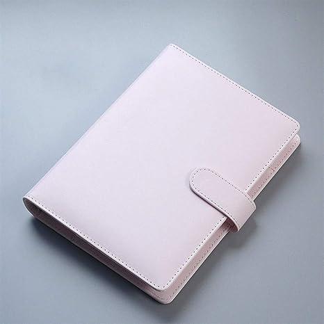 King Boutiques Cuero de PU A5 A6 Cuaderno Diario Agenda ...
