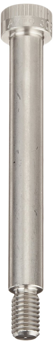 Standard Tolerance M10-1.5 Threads 12 mm Shoulder Diameter Made in US, 90 mm Shoulder Length Auccurate Manufacturing STR601M12X90 Plain Finish Hex Socket Drive Pack of 1 18-8 Stainless Steel Shoulder Screw 16 mm Thread Length Socket Head Cap