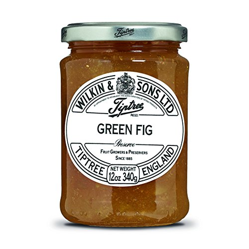 Tiptree Green Fig Preserve, 12 Ounce Jar