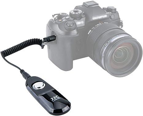 JJC Cable Disparador Disparador Remoto para Olympus OM-D E-M1 Mark ...