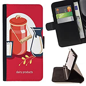 Dragon Case - FOR LG OPTIMUS L90 - I'm afraid to cherish - Caja de la carpeta del caso en folio de cuero del tirš®n de la cubierta protectora Shell