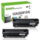 hp 3030 toner cartridge - Aztech Q2612A 12A Toner Compatible for HP 12A Q2612A Toner Cartridges for HP LaserJet 1020 1012 1022 1010 1018 1022n 3015 3030 3050 3052 3055 M1319F Printer