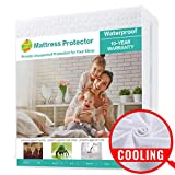 SOPAT Queen Mattress Protector 100% Waterproof Mattress Pad Cover,3D Air Fabric,Breathable Smooth...