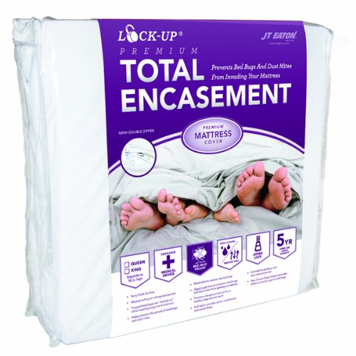 JT Eaton 81QUENC Bed Bug Lock-Up Total Encasement Mattress C