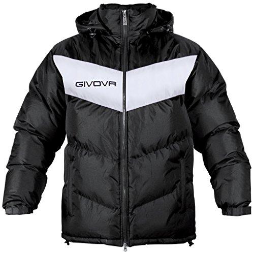 Givova Abbigliamento Sportivo Jacket Giubbotto Podio Nero-bianco S