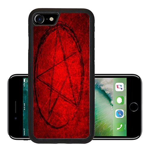 Luxlady Premium Apple iPhone 7 Aluminum Backplate Bumper Snap Case iPhone7 IMAGE ID 31243034 Halloween (Haunted Forest Halloween Ideas)