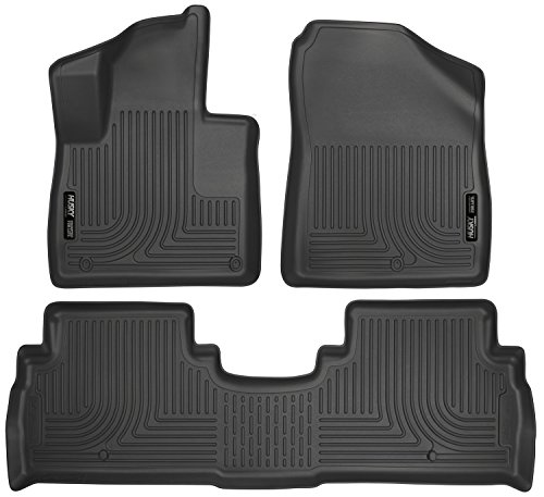 Husky Liners Front & 2nd Seat Floor Liners Fits 2016 Sorento