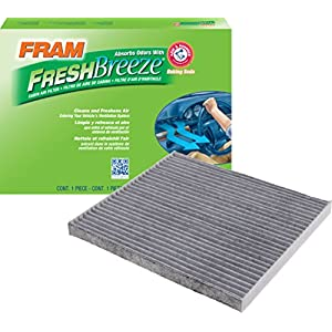 FRAM CF11819 Fresh Breeze Cabin Air Filter with Arm & Hammer