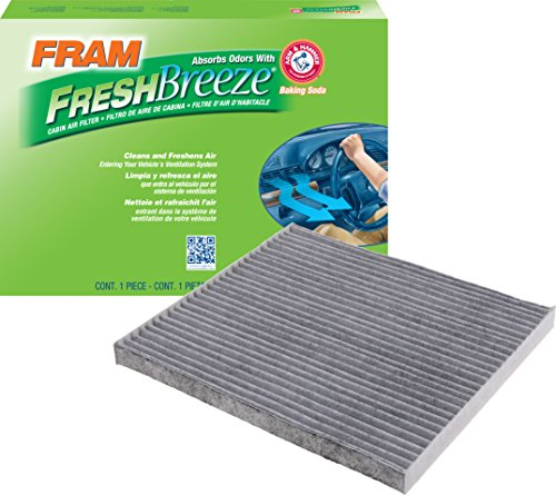 - FRAM CF11819 Fresh Breeze Cabin Air Filter with Arm & Hammer