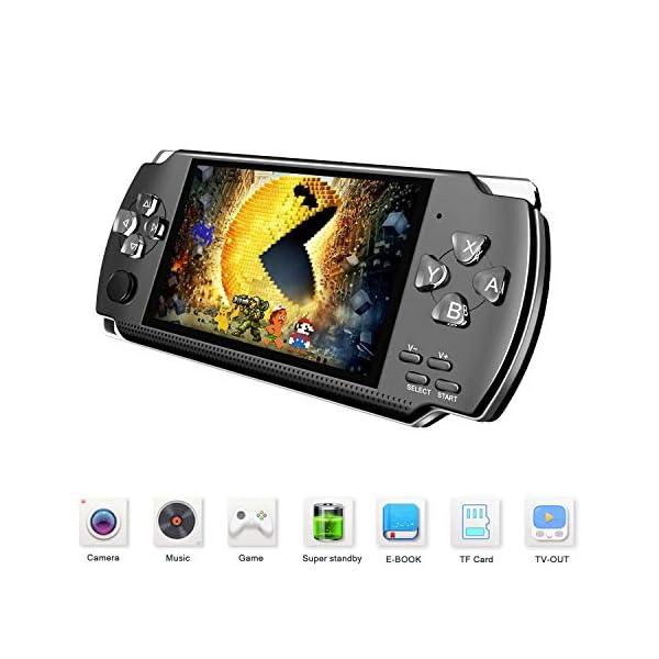 AdesireFun Handheld Game Console,4.3 Inch 1700 Classic Retro Portable Video Game...