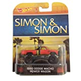 1980 Dodge Macho Power Wagon SIMON & SIMON Hot Wheels 1:64 Retro Entertainment Die Cast