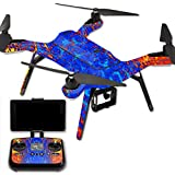 MightySkins Protective Vinyl Skin Decal for 3DR Solo Drone Quadcopter wrap cover sticker skins Melting