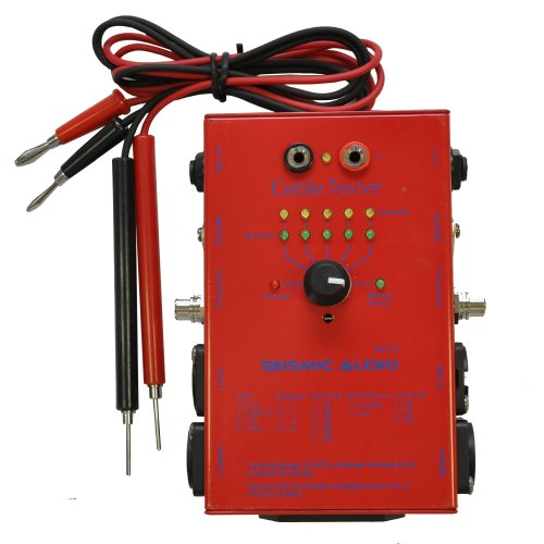 Red Midi Cable - Cable Tester - Test XLR, 1/4