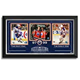 Wayne Gretzky and Connor McDavid Framed Three Collector Photos - Ltd Ed /299