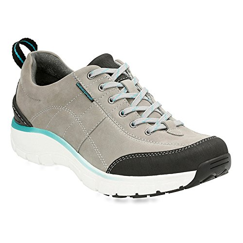 Clarks Women's Wave.Trek Grey Nubuck Sneaker 8 B (M)