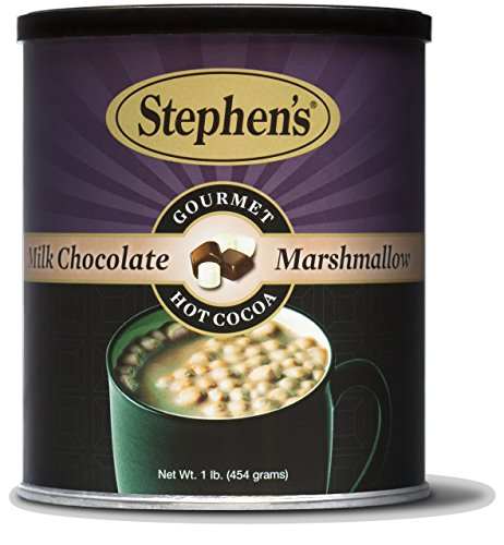 Hot Cocoa With Marshmallows - Stephen's Milk Chocolate Marshmallow Hot Cocoa, 1 LB (Pack - 1)