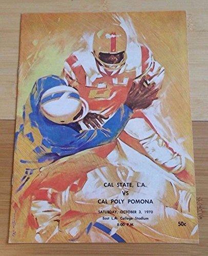 CAL POLY POMONA CAL STATE LA COLLEGE FOOTBALL PROGRAM - 1970 - ()