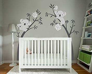 Elegant BDECOLL Wandtattoo Baum/Koala Baum Wandsticker/Baum Cartoon Tiere Koala  Wandaufkleber/