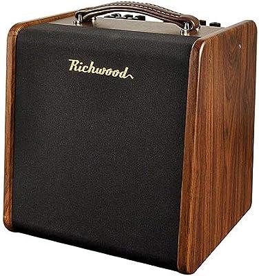 Richwood RAC-50 · Amplificador guitarra acústica: Amazon.es ...
