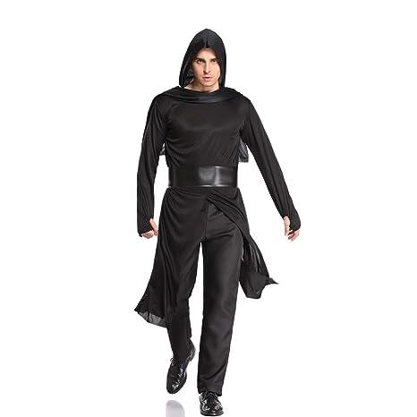 PRTQI Hombres Adultos De Halloween Ropa Ninja Warrior ...