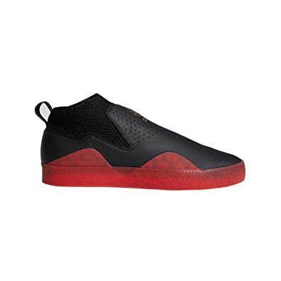 the latest 4c85f a01f9 adidas 3ST.002 Nakel Smith Skate Shoe -Black Red (8)
