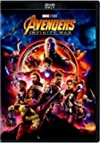 Avengers: Infinity War (DVD,2018) New