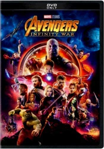 Avengers: Infinity War (DVD,2018) New by Brand new