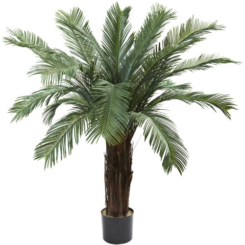 4 Cycas Tree UV Resistant - (Indoor/Outdoor) by NNatural by NNatural