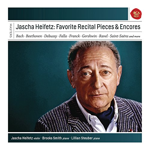 Jascha Heifetz - Favourite Recital & Encore (Heifetz Collection)