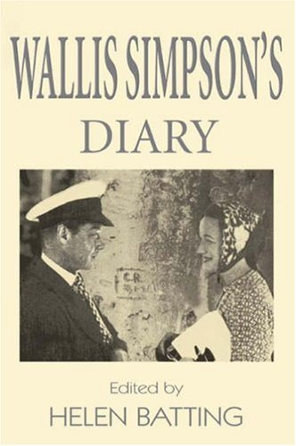 Wallis Simpson Diaries '34
