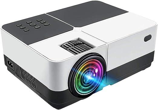 ZDNP Mini proyector LED, 800LMS de Cine en casa Full HD de 140 ...