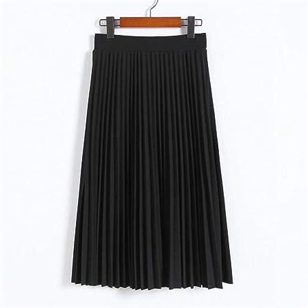PAIOUPAIOU Faldas Plisadas de Cintura Alta for Mujer Falda ...