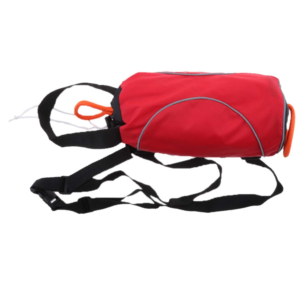 Flameer Red 85ft Safety Water Reflective Rescue Throw Bag Floating Rope Line Kit by Flameer (Image #6)