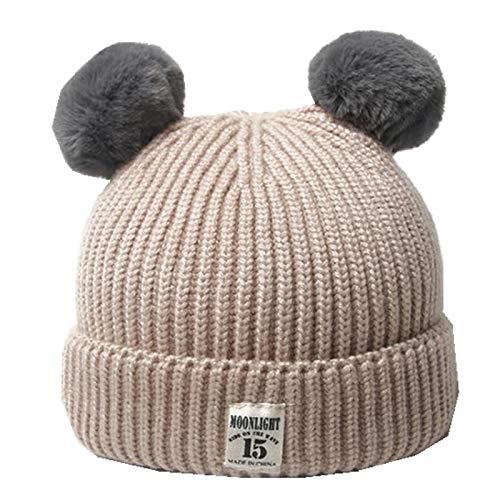 Winter Hat Wool Hat Double...