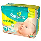 Amazon Price History for:Pampers Swaddlers Diapers, Size Newborn, 20 Count