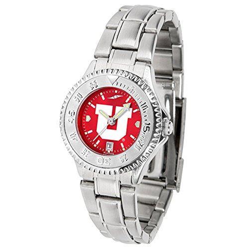 Utah Utes Competitor Steel Watch (Utah Utes Competitor Steel AnoChrome Women's Watch)