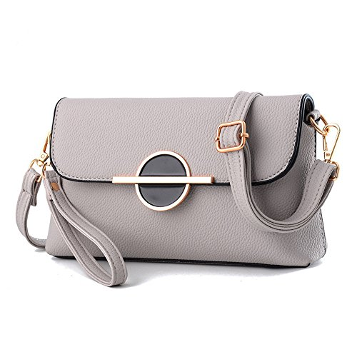 Womens Small Size Leather Crossbody Hobo Convertible Clutch Bag Single Shoulder - Clutch Handbag Convertible