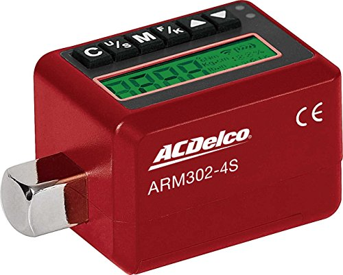 ACDelco ARM302-4S 1/2'' Electronic Digital Torque Adapter, 12.5-250.7 ft-lbs, Buzzer/LED Flash Notification - ISO 6789 Standards Certificate of Calibration by ACDelco Tools (Image #4)