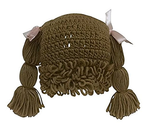 The Lilly Hat Woven Yarn Hair Hat - Adult Size - Light Brown