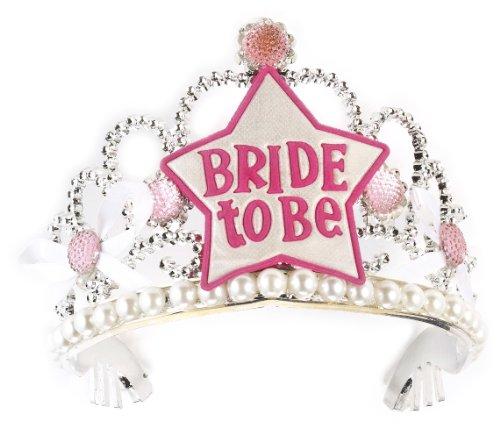 Forum Novelties Silver Bachelorette Bridal