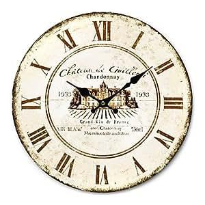 VV Casa de campo reloj de pared