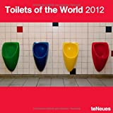 2012 Toilets of the world Wall Calendar (English, German, French, Italian, Spanish and Dutch Edition)