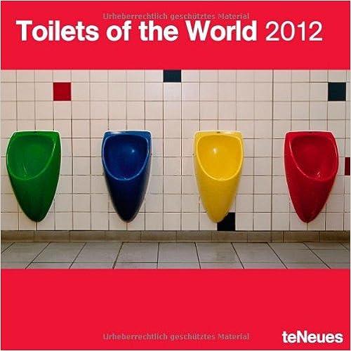 2012 Toilets of the World Grid Calendar