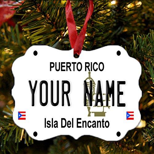 Buy puerto rico wooden plate