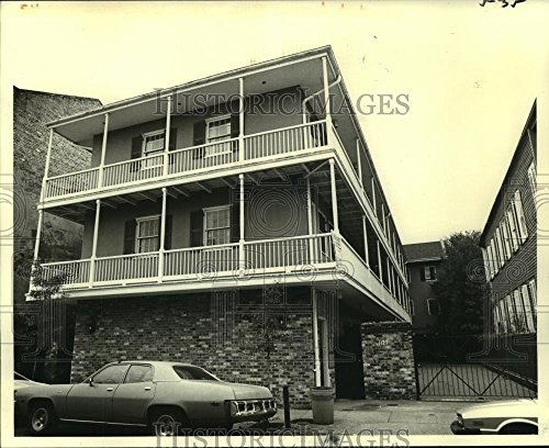 1979 Press Photo Building at 1127 Dauphine Street in New Orleans, Louisiana - 8 x 10 in. - Historic - Dauphine Press