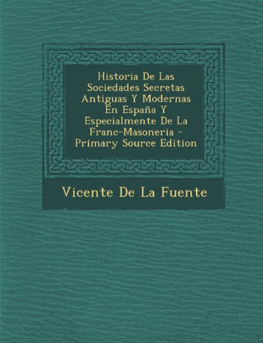 Biography of author vicente de la fuente booking - Vicente de la fuente ...