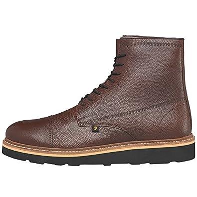 1c62e4809ee915 Designer ME Mens Farah Margo Boots Oxblood Leather Guys Gents (UK Shoe 12  Euro Shoe