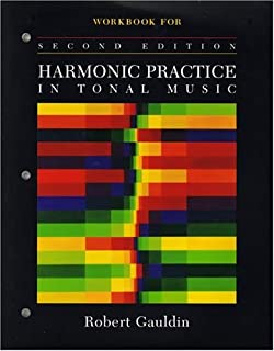 Harmonic practice in tonal music robert gauldin 9780393970746 workbook for harmonic practice in tonal music second edition fandeluxe Images