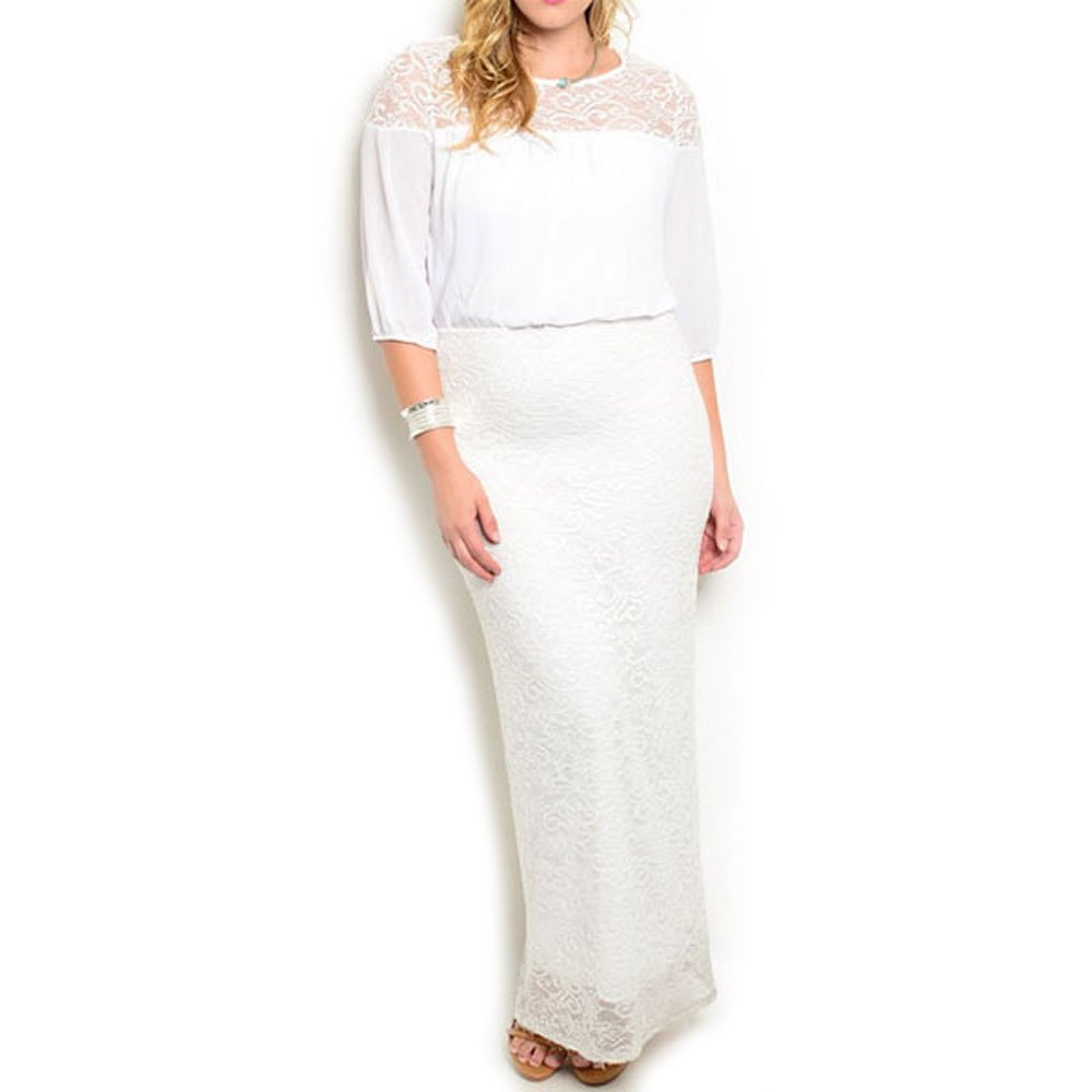 Buy Size plus white casual dresses photo pictures trends